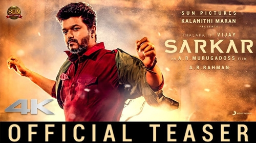sarkar official teaser
