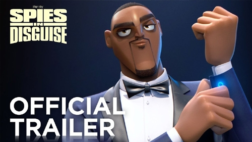 spies in disguise official trailer