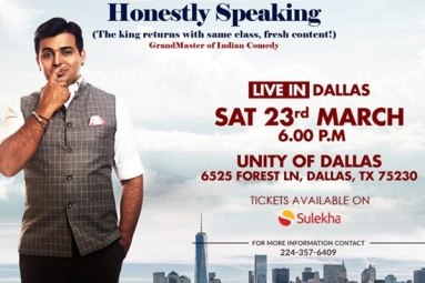 Honestly Speaking - Amit Tandon Stand-Up Comedy: Live in Dallas