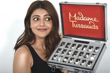 Kajal Aggarwal's Wax Idol in Madame Tussauds