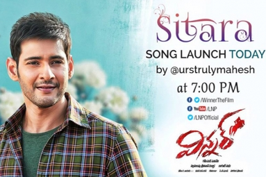 Mahesh to launch Winner's first song