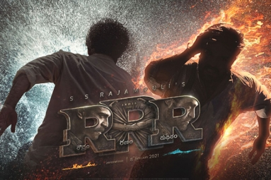 Top Class Response For RRR Motion Poster