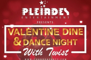 Valentine Dine & Dance Night - Love is in the air