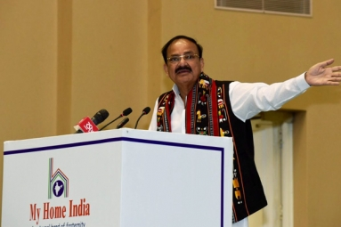Venkaiah Naidu: India is a Peace Loving Nation and it Wants to Be Friendly With All Our Neighbors