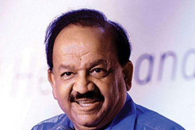 WHO Executive Board Selected Harsh Vardhan As The Chairman