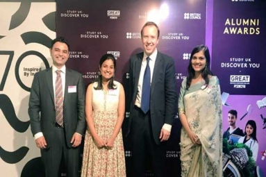 Three Influential Indian Alumni of UK Universities, get awarded by British Council
